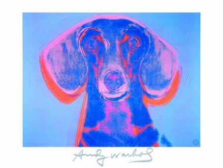 Portrait of Maurice - Andy Warhol