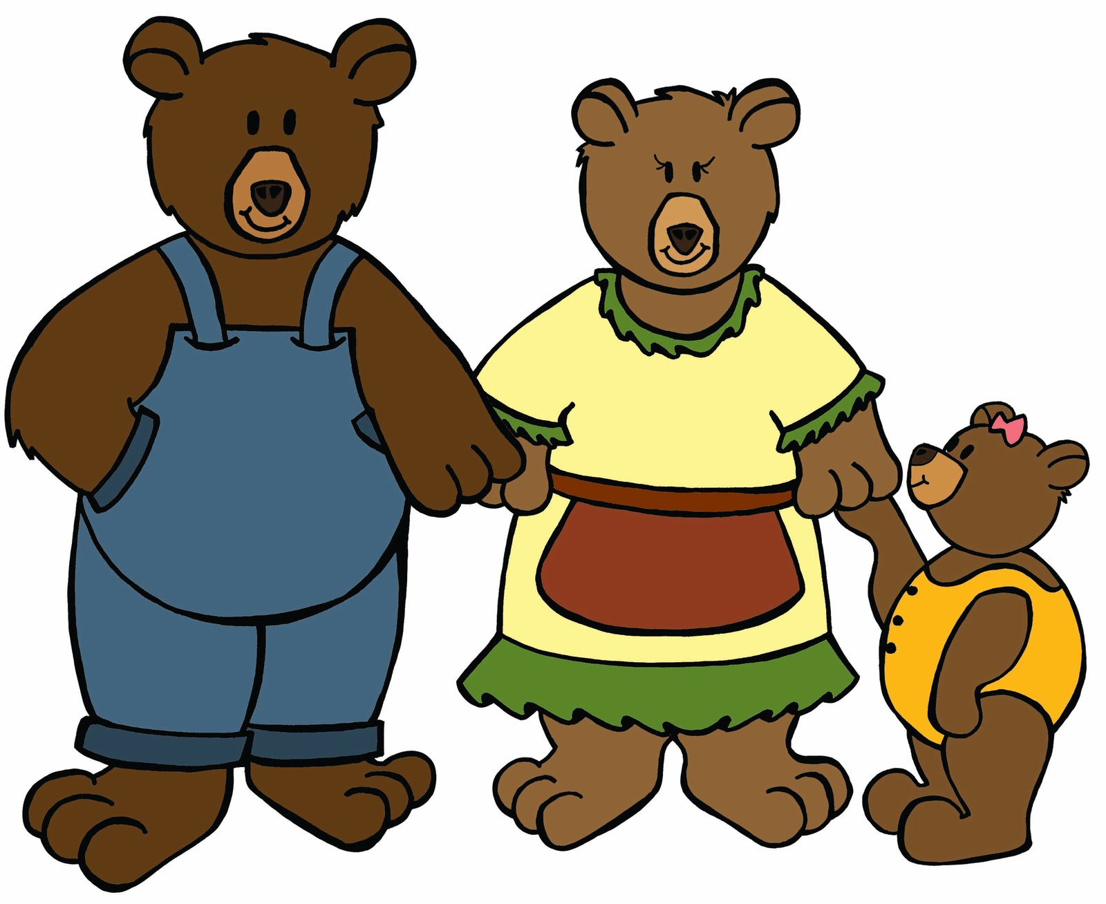 Three bears clipart 20 free Cliparts   Download images on ...