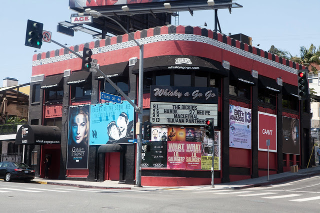 Whisky a Go Go, Los Angeles