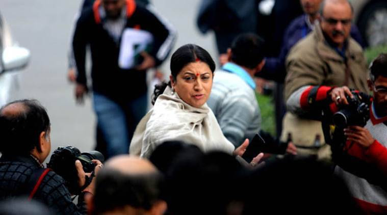 I&B Ministry snatched from Smriti Irani in Modi govt's cabinet reshuffle