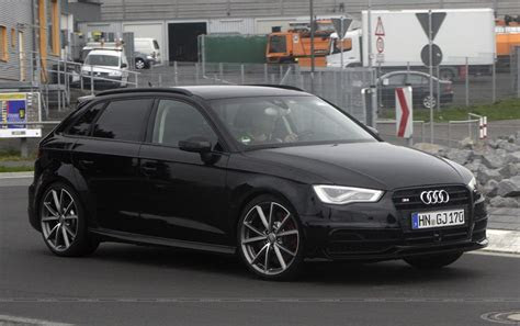 audi cars news  rs spied testing  germany