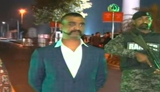 Pakistan hands over indian piolet to india at wagah
