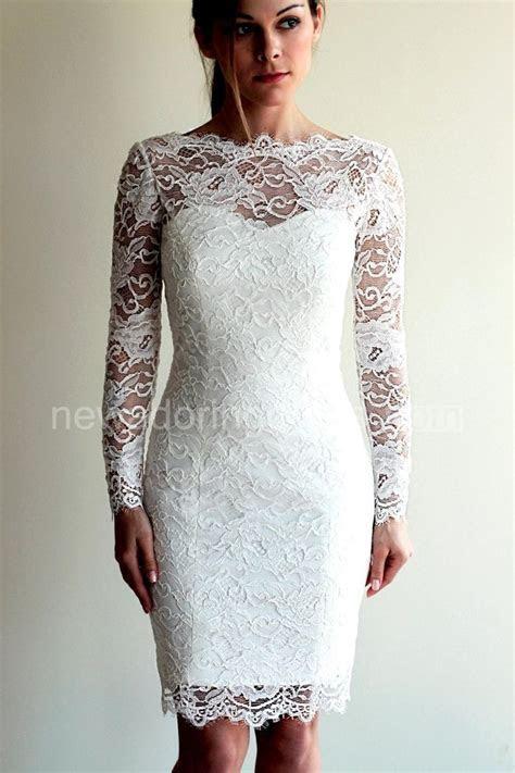 Best 25  Short lace wedding dress ideas on Pinterest