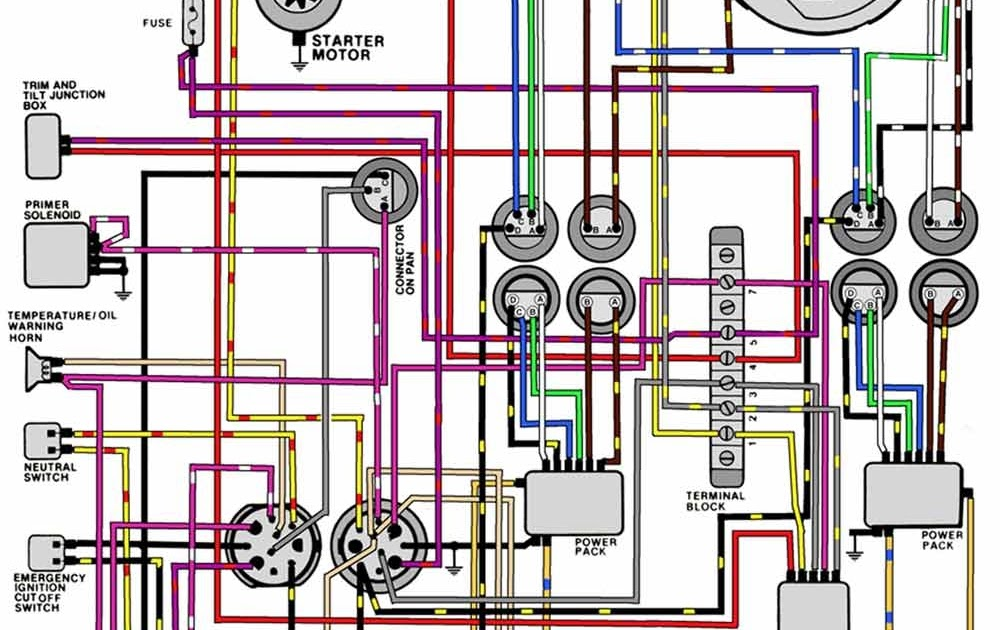 30 Mercury Outboard Wiring Diagram Schematic