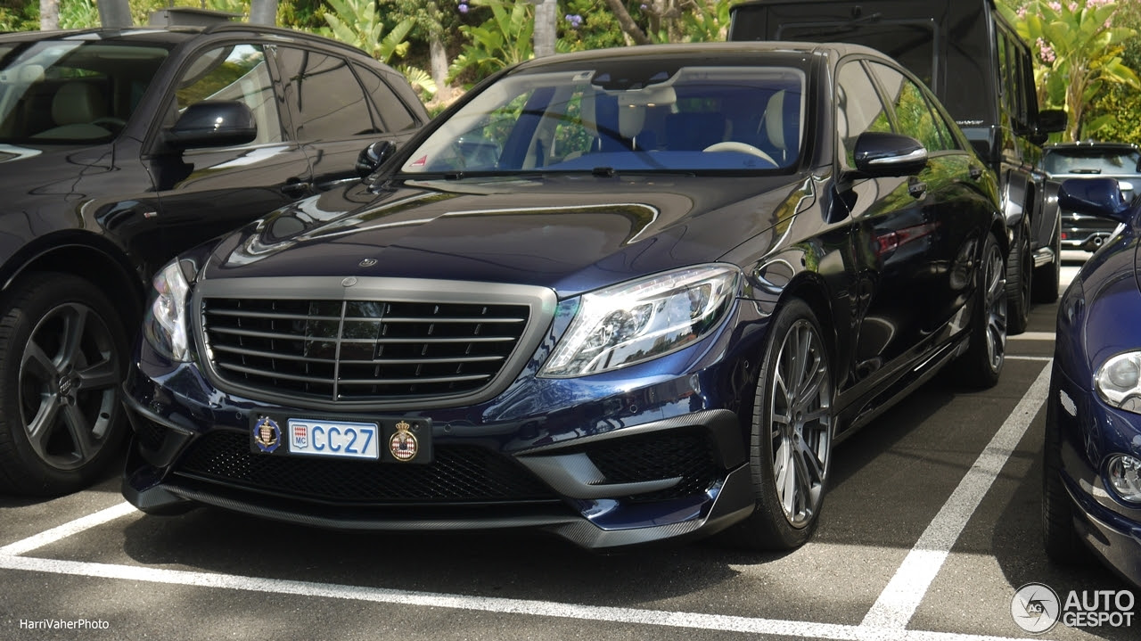 MercedesBenz Brabus 850 6.0 Biturbo W222  13 June 2016  Autogespot