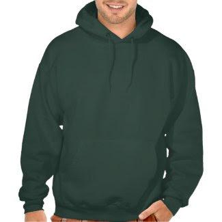 Mens Deep Forest Hooded Sweatshirt - Customize it