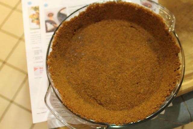 Pumpkin cream pie with gingersnap crust recipe