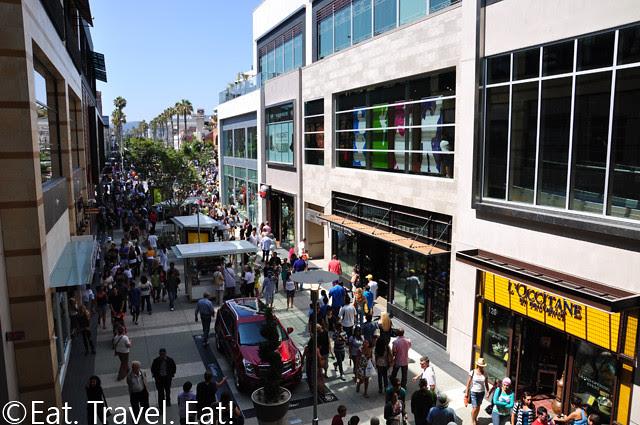 People at Santa Monica Place