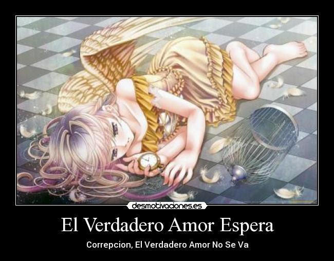 El Verdadero Amor Espera Desmotivaciones