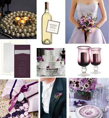Purple Wedding Decorations Ideas
