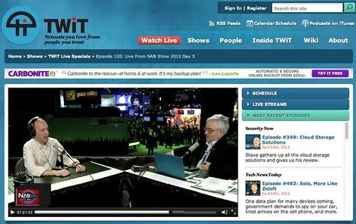 TWiT Live Specials 120 | TWiT.TV by stevegarfield