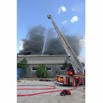 Norges-la-Ville | Un violent incendie se déclare dans un entrepôt d'Emmaüs