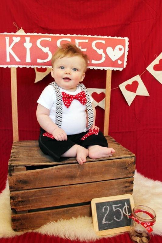 Babies valentine's day Dresses (8)
