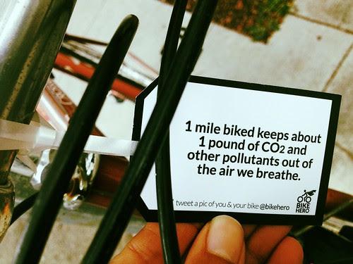 Be a bike hero.