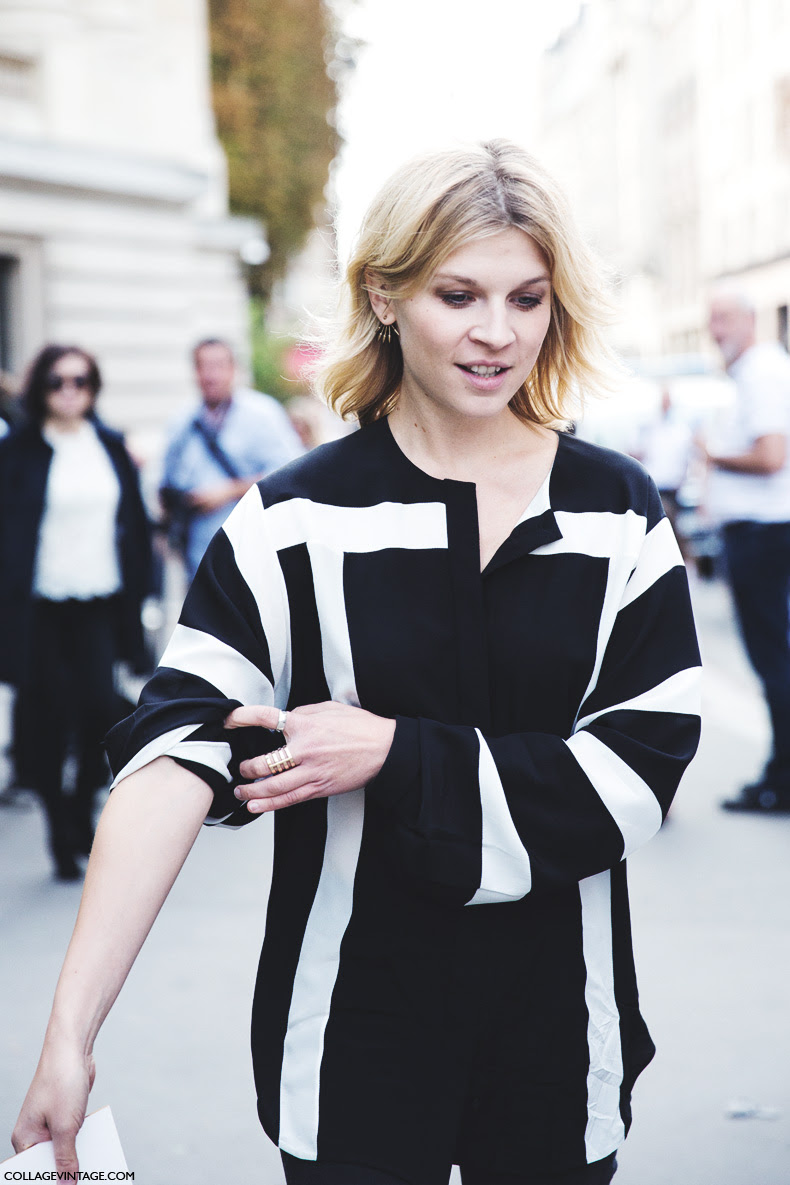 Paris_Fashion_Week_Spring_Summer_15-PFW-Street_Style-Clemence_Poesy-Black_And_White-Chloe-4