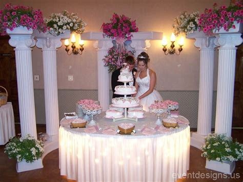 Wedding Cake Table Ideas   Pretty Stuff, Inspirations