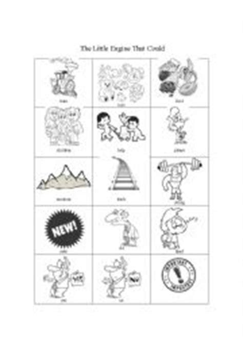 English worksheets: The Little Engine That Could - pictionary