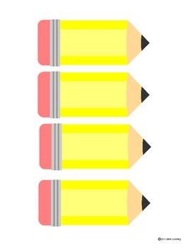 Pencil Glyph, Helper Cards