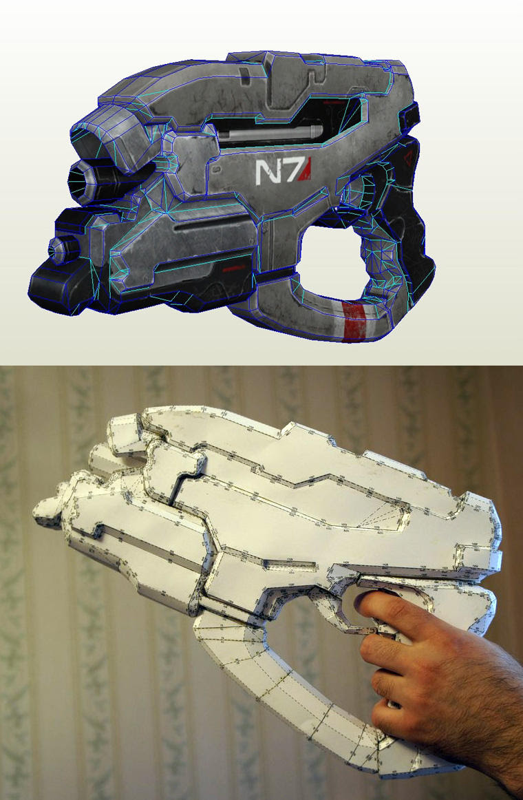 N7 Eagle Papercraft