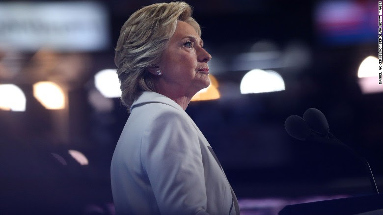 Hillary Clinton accepts the Democratic Party's nomination for President during the Democratic National Convention on Thursday, July 28. The former first lady, U.S. senator and secretary of state is the first woman to lead the presidential ticket of a major political party.