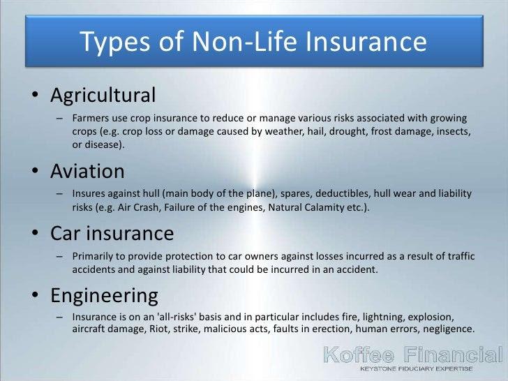 4. Insurance - Non-Life Insurance