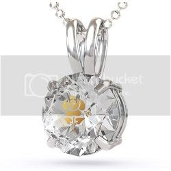 Enter to win a CZ Rose Pendant - ends 12/03/12