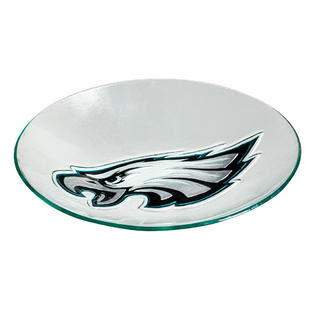 Evergreen Philadelphia Eagles Glass Birdbath - Outdoor Living ...
