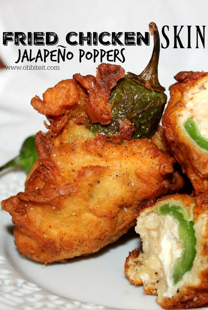 Fried Chicken Jalapeno Poppers Oh Bite It