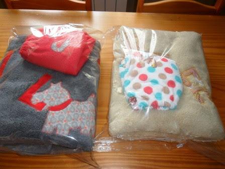 envoltorios toallas