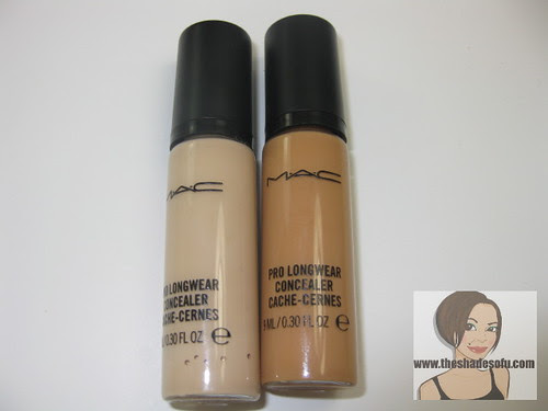Mac Pro Longwear Concealer Review The Shades Of U