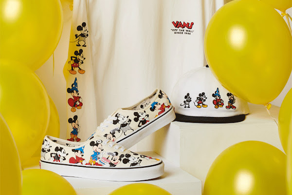 "bb68aea52a Vans And Disney Present The ""Mickey Through The Decades"" Collection"