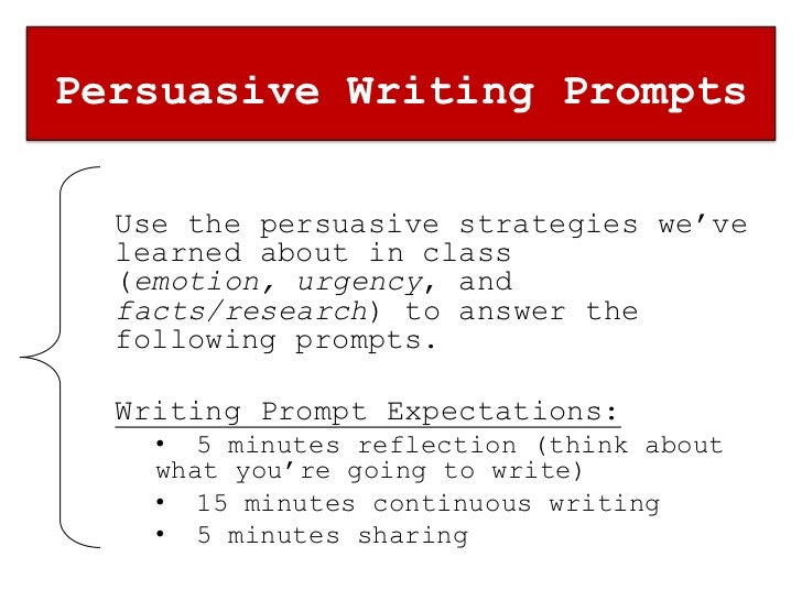 writing strategies for persuasive essays