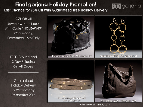 Gorjana Holiday Sale