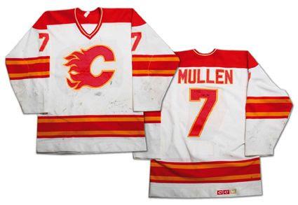Calgary Flames 88-89 jersey