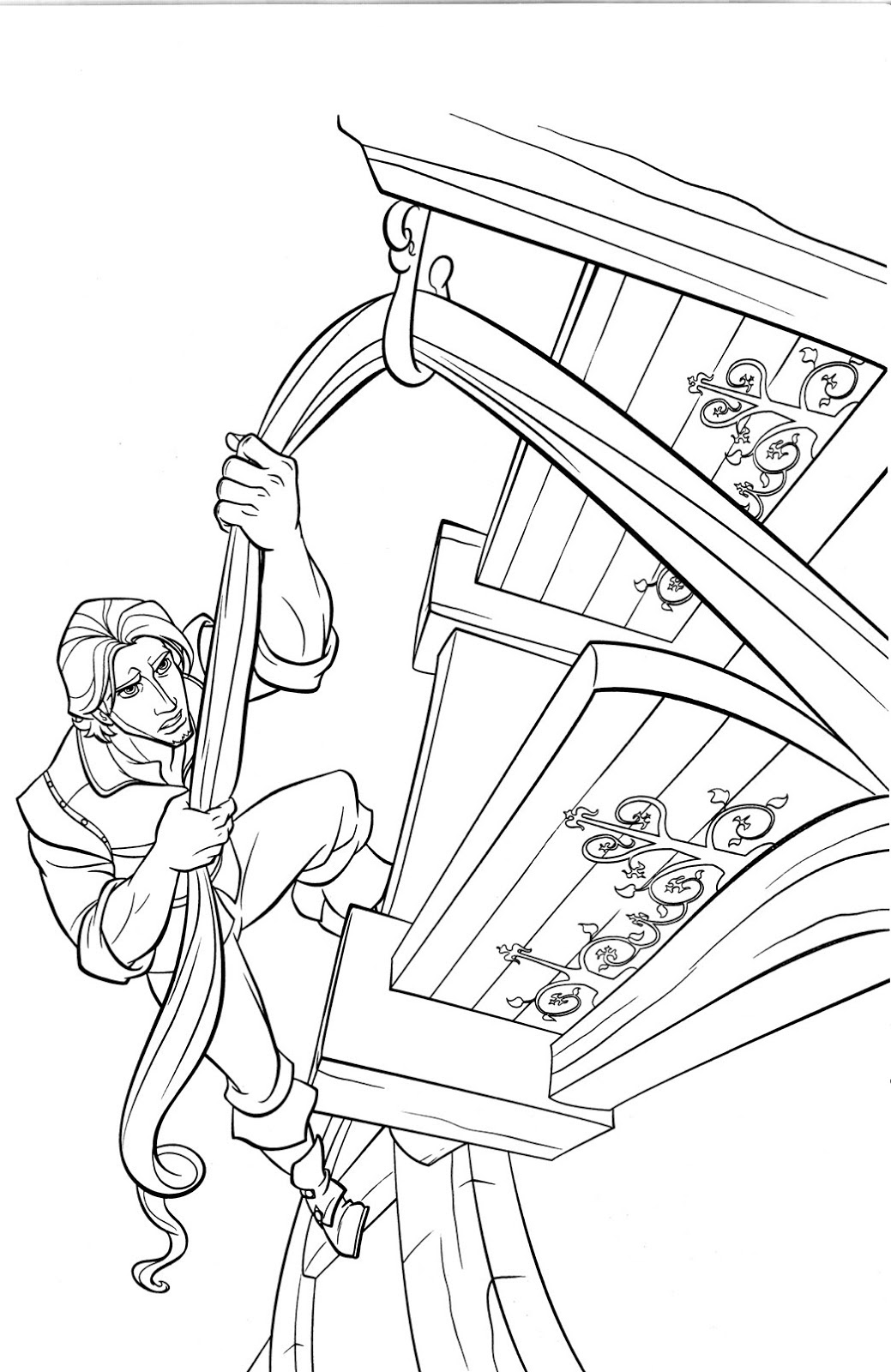 Tangled Coloring Pages 360coloringpages