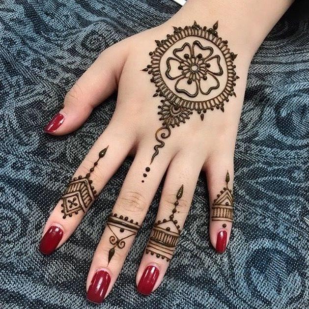 Gambar Henna Bagus Dan Simpel Gambar Bagus