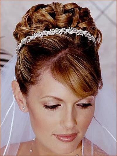 Wedding Hairstyles - western wedding