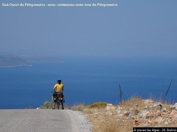 """""""Tour d'Europe à vélo 2015"""", Episode 18 (Grèce : Péloponnèse)"""