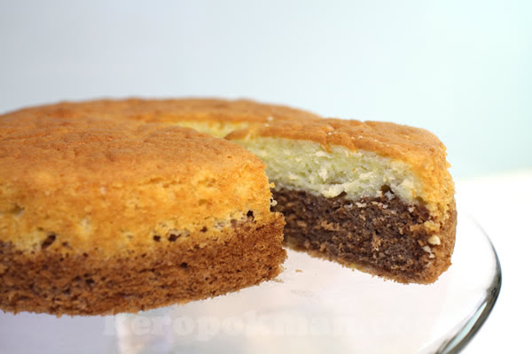 Chocolate and Orange Cointreau Butter Cake