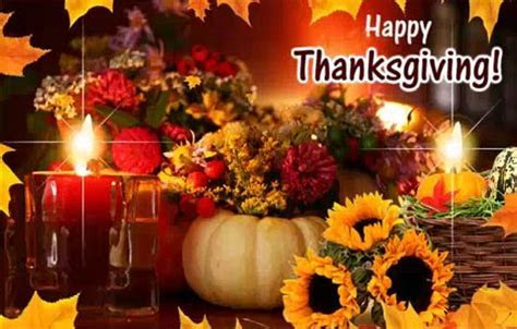 A Happy Thanksgiving Wishes Ecard. Free Happy Thanksgiving