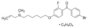 Ro 48-8071 fumarate ≥98% (HPLC), solid