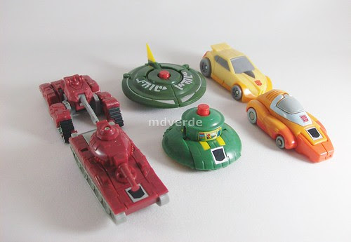Transformers Minibot Spy Team Classics Henkei Legends vs G1 - modo alterno