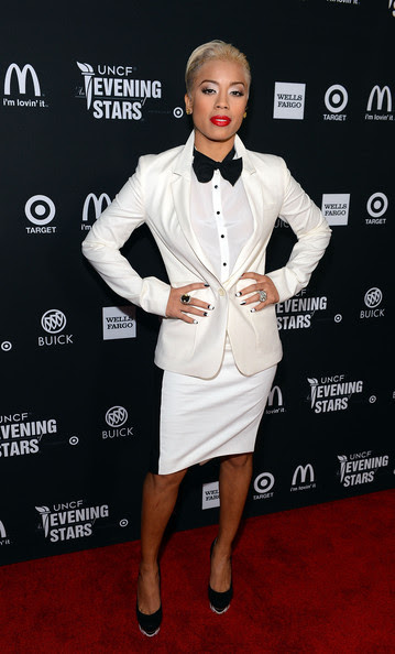 Keyshia Cole - UNCF Hosts The 33rd Annual An Evening With The Stars - Red Carpet
