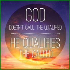 god calls us