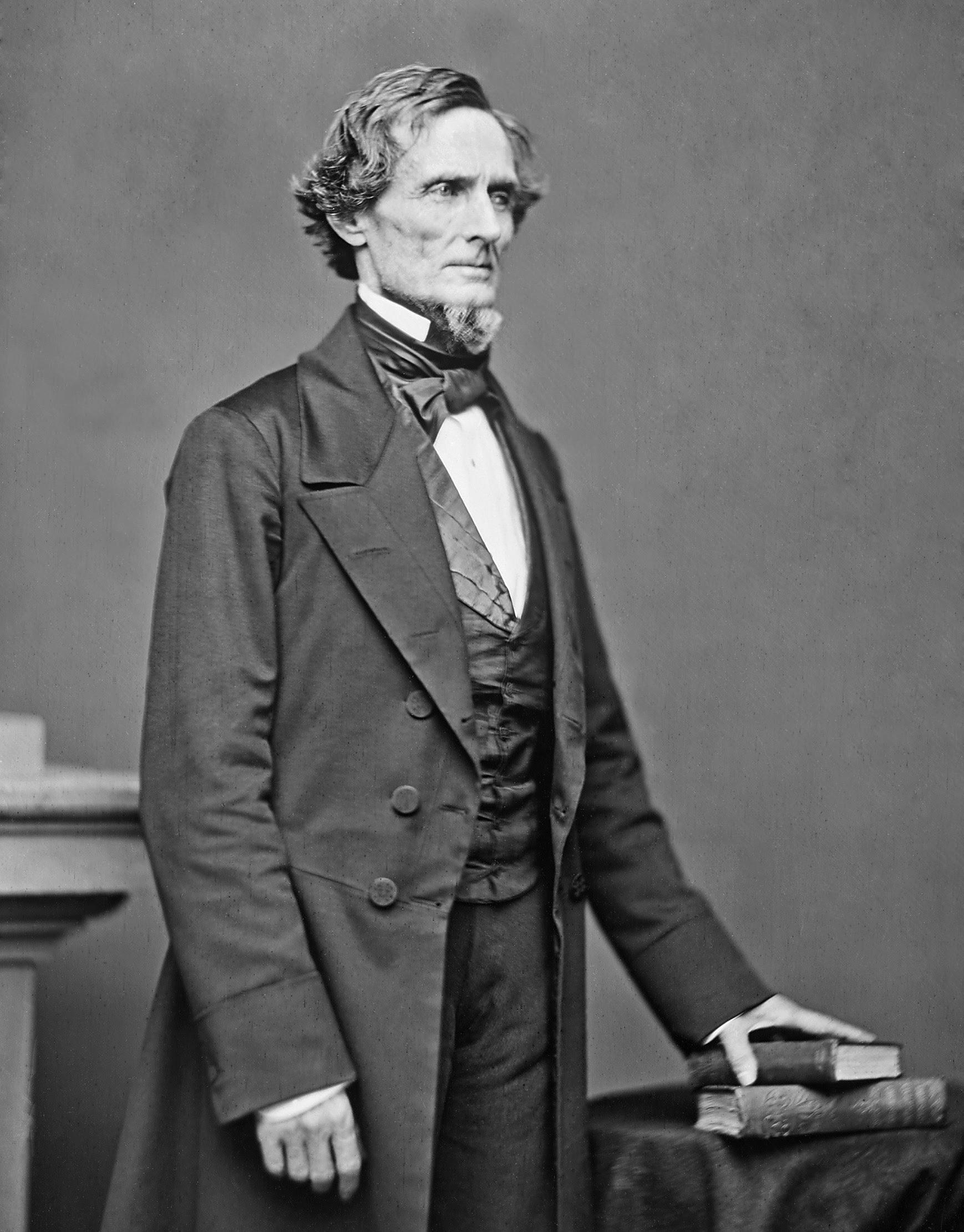 Jefferson Davis portrait by Mathew B. Brady