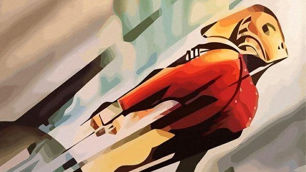 THE ROCKETEER artwork.