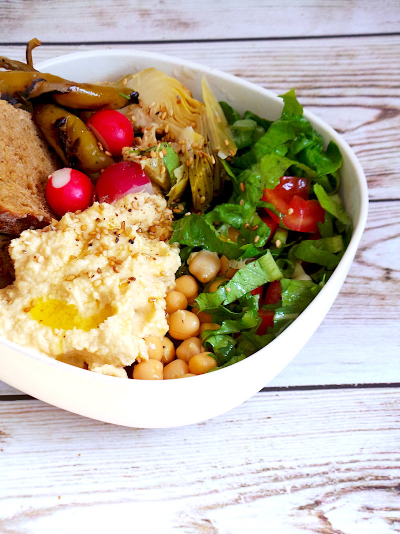 A Healthy Lunch Bowl You Can Throw Together In 10 Min Beauty Bites