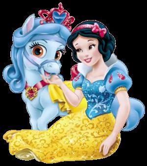 Snow White and Sweetie - Disney princess palace pets Photo ...