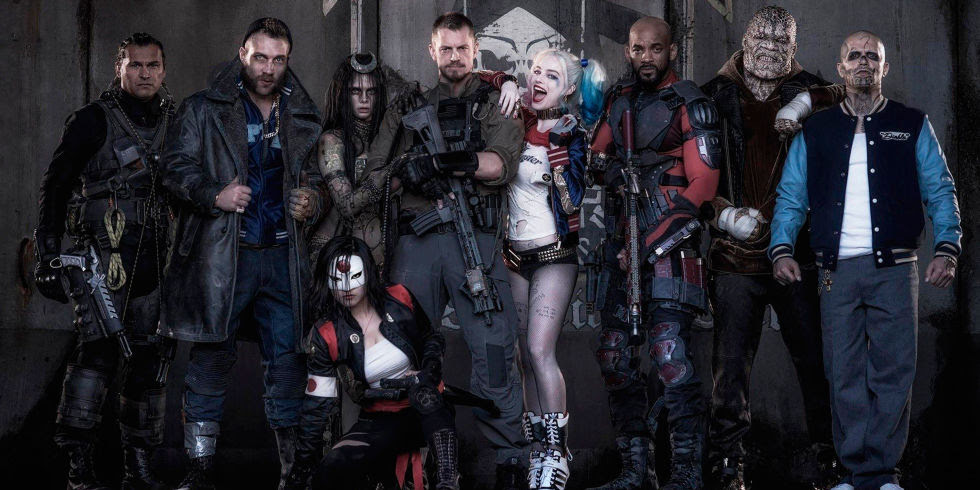 Suicide Squad trailer - Cara Delevingne, Margot Robbie, Will Smith