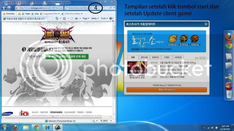 Cara bermain/menginstal Lost Saga Korea
